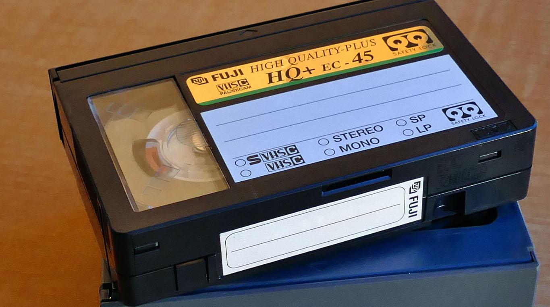 conversion video vhs  sur dvd