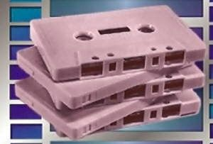 Empty Cassette Tape Shells - TracerTek {JPEG}