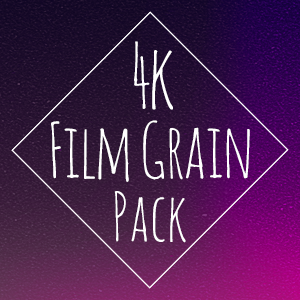 GrainZilla 35mm Film Grain 4k Pack {PNG}