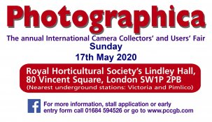 34th Annual London International Camera Collection's Fair 2020 @ Londres - UK {JPEG}