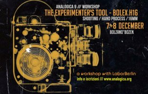 Analogica 9 WorkShop Bolex H 16mm 2019 @ Bolzano - Italie {JPEG}