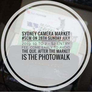 Sydney Camera Market July 2019 @ Sydney, NSW {JPEG}