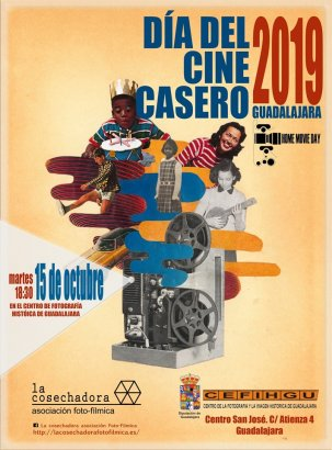 Home Movie Day 2019 @ Guadalajara, Castilla-La Mancha {JPEG}