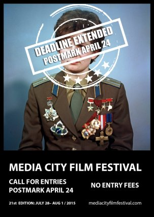 21st Media City Film Festival - Call For Entries 2015 {JPEG}