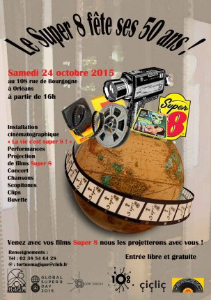 Global Super 8 Day 2015 @ Orléans, France {JPEG}